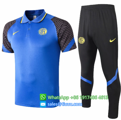 Inter Milan 20/21 Polo and Pants - C504