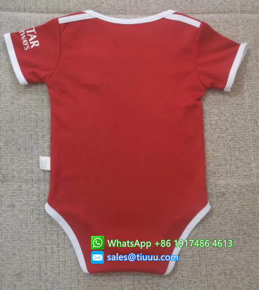 Bayern Munich 20/21 Home Kit Baby Bodysuits