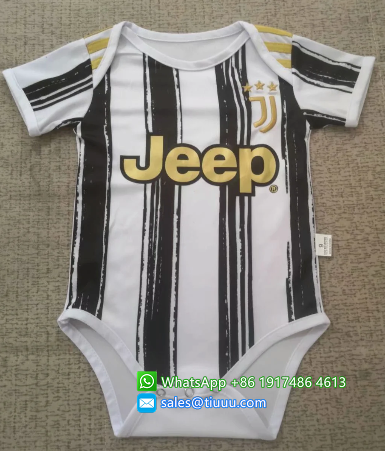 JUVENTUS 20/21 Home Kit Baby Bodysuits