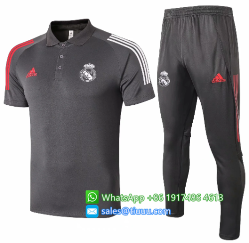 Real Madrid 20/21 Training Polo and Pants - C513