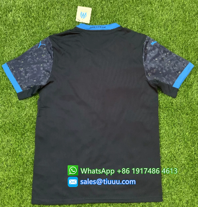 Thai Version 20/21 Olympique Marseille Away Soccer Jersey