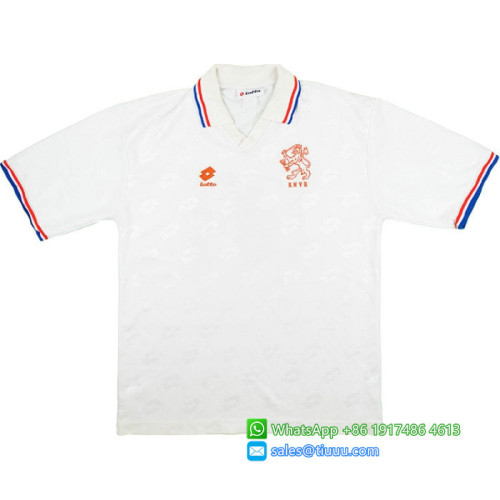 Netherlands 1994-95 Away Retro Football Jersey