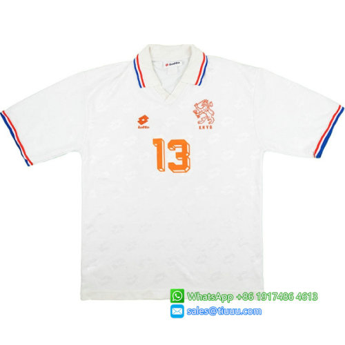 Netherlands 1994-95 Away Retro #13 Jersey