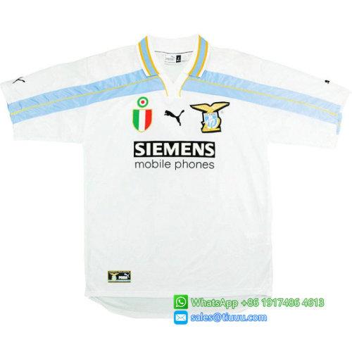 Lazio 2000-2001 Nesta Home Retro Jersey