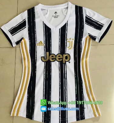 Thai Version Juventus 20/21 Women's Home Soccer Jersey
