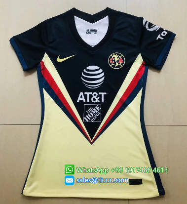 Thai Version Club America 20/21 Women's Home soccer jersey