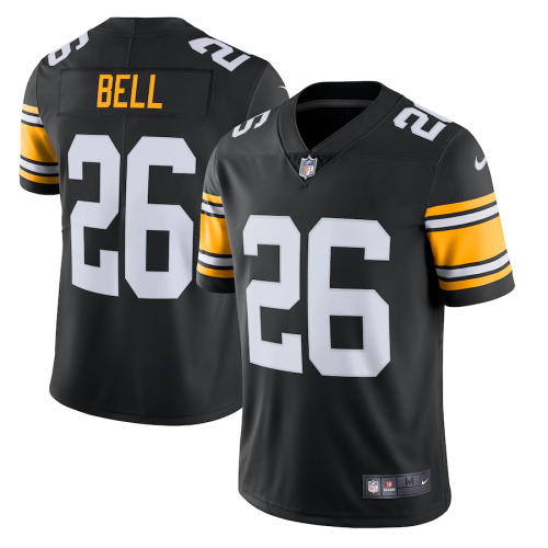 Men's Pittsburgh Steelers Le'Veon Bell Black Alternate Vapor Untouchable Limited Jersey