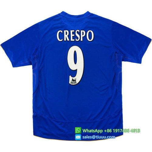 Chelsea 2005/06 Centenary Home Retro Jersey #9 Crespo