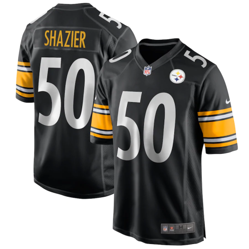 Men's Pittsburgh Steelers Ryan Shazier Black Game Jersey