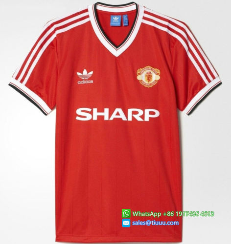 Manchester United 1982-1984 Home Retro Jersey