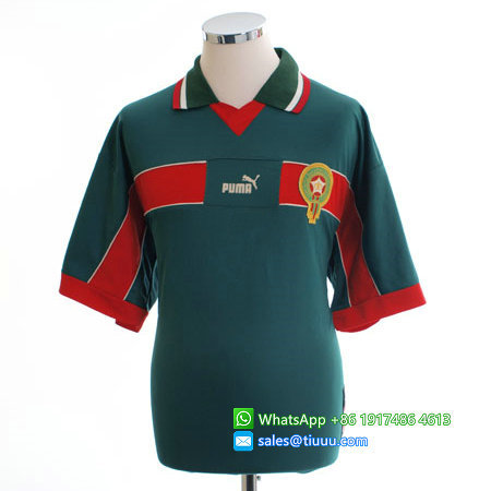 Morocco 1998-99 Home Retro Jersey