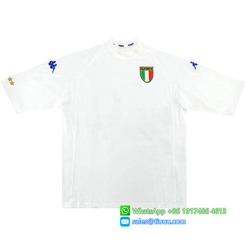 Italy 2000/01 Away Retro Soccer Jersey