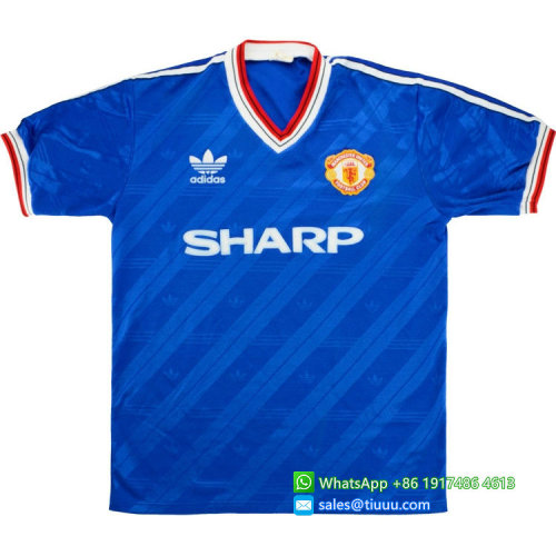 Manchester United 1986-88 Third Retro Jersey