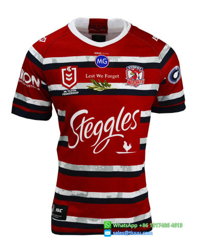 Sydney Roosters 2020 Men's Anzac Rugby Jersey