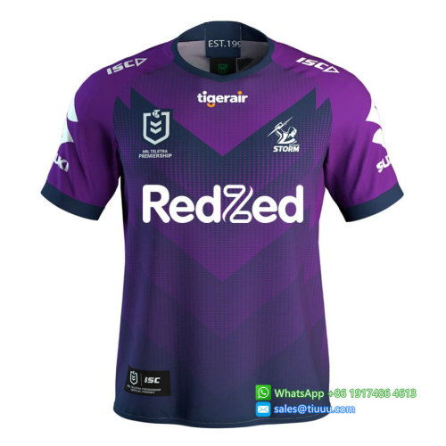 Melbourne Storm 2020 ISC Mens Home Rugby Jersey