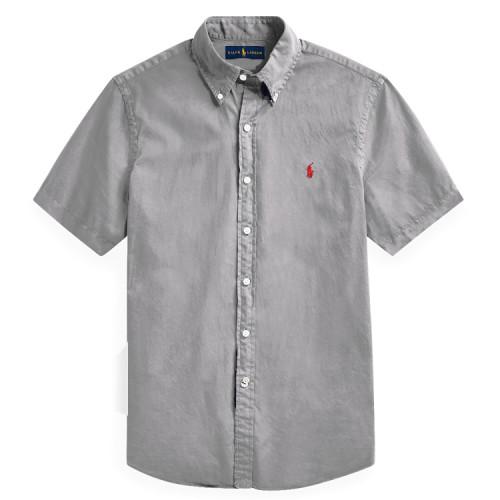 Men's Classics Short Sleeve Gray Shirt