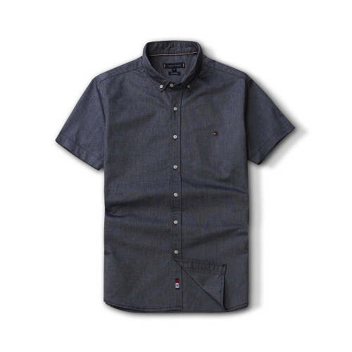 Men's Classics Short Sleeve Dark Gray Shirt
