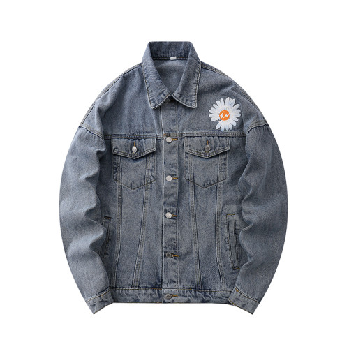 2020 Summer Fashion Denim Jacket Blue