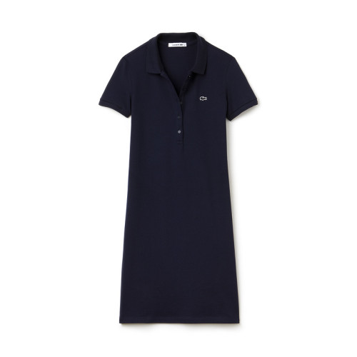 Women's Stretch Cotton Mini Piqué Polo Dress L004