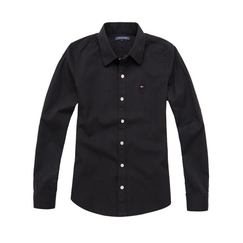 Women's Classics Long Sleeve Black Shirt