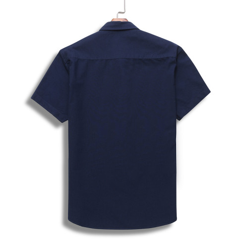 Men's Classics Short Sleeve Navy Shirt