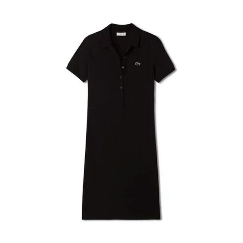 Women's Stretch Cotton Mini Piqué Polo Dress L008