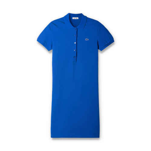 Women's Stretch Cotton Mini Piqué Polo Dress L005