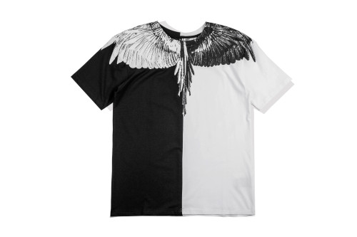 2020 Summer Fashion Wing T-shirt Black+ White