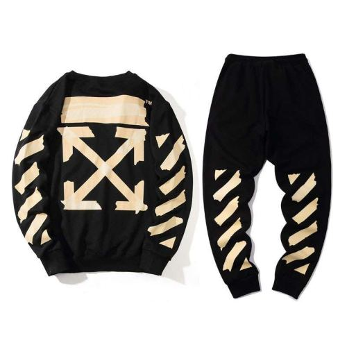 2020 Summer Fashion Sweater & Pants Suits Black
