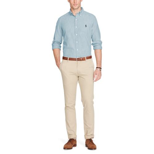 Men's Classics Long Sleeve Blue Shirt