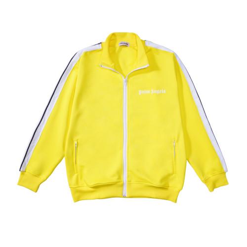 2020 Summer Fashion Jacket & Pants Yellow