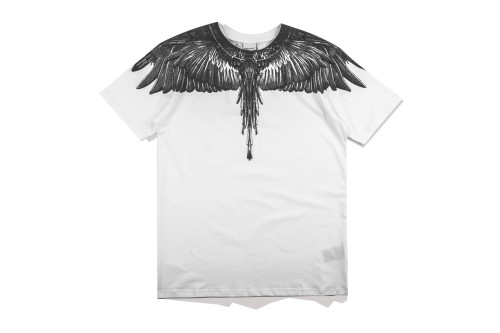 2020 Summer Fashion Wing T-shirt White