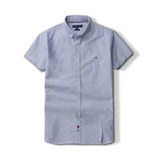 Men's Classics Short Sleeve Light Gray Shirt