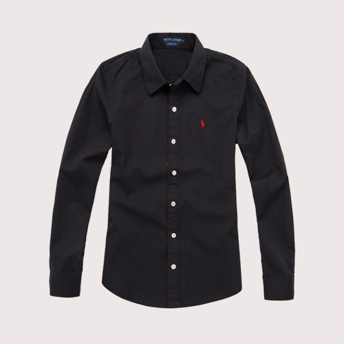 Women's Classics Long Sleeve Black Shirt