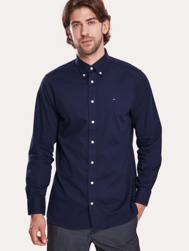 Men's Classics Long Sleeve Navy Shirt