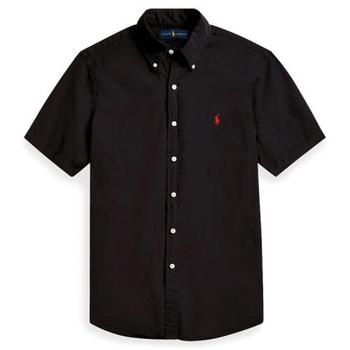 Men's Classics Short Sleeve Black Shirt