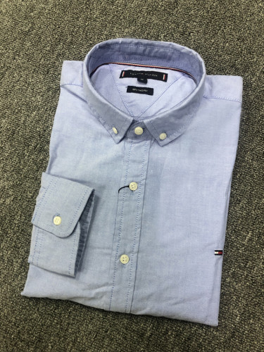 Men's Classics Long Sleeve Blue Shirt