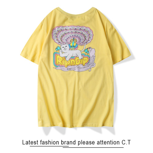 2020 Summer Fashion T-shirt Yellow