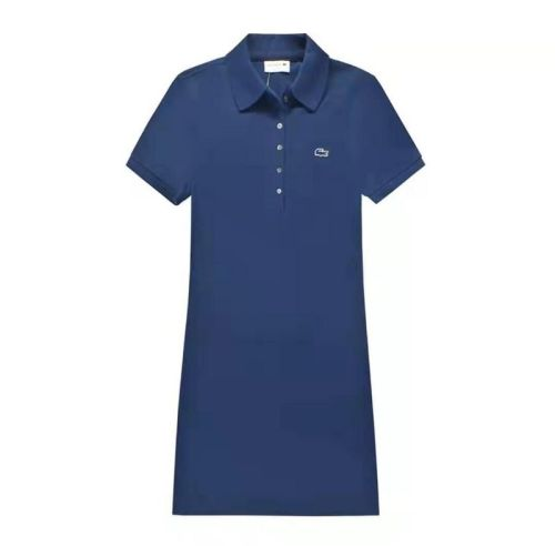 Women's Stretch Cotton Mini Piqué Polo Dress L006