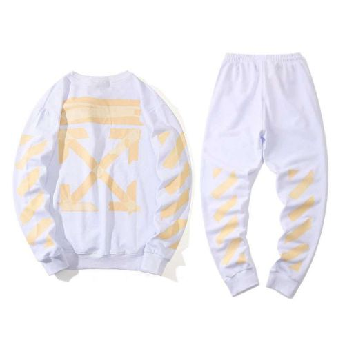2020 Summer Fashion Sweater & Pants Suits White
