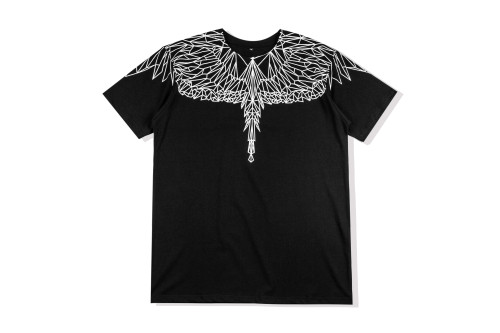 2020 Summer Fashion Wing T-shirt Black+White