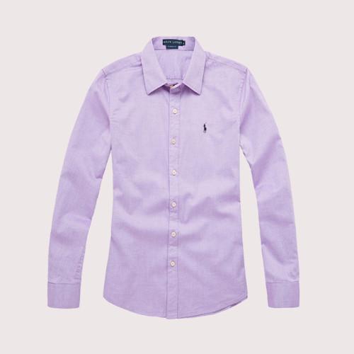 Women's Classics Long Sleeve Purple Shirt