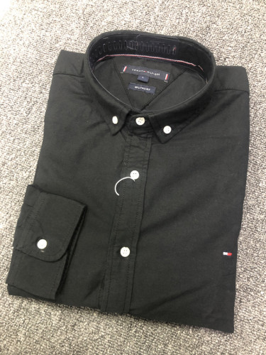 Men's Classics Long Sleeve Black Shirt