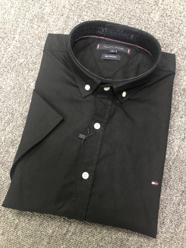 Men's Classics Short Sleeve Black Shirt