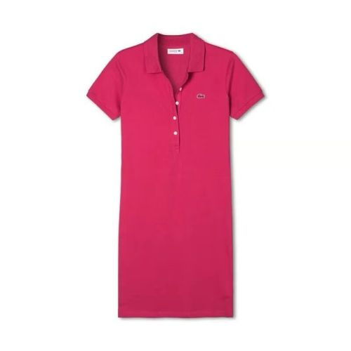 Women's Stretch Cotton Mini Piqué Polo Dress L009