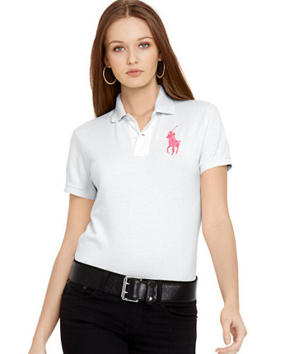 Women'sClassics Pure ColorPoloShirt