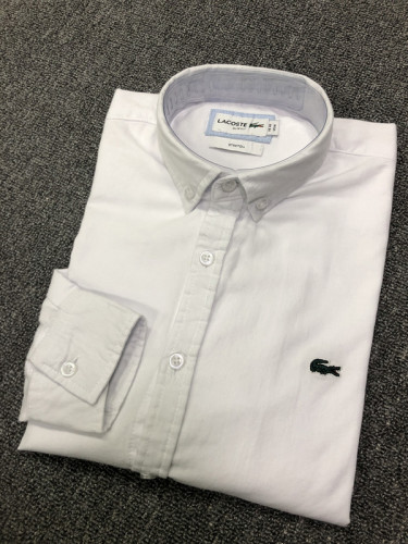 Men's Classics Long Sleeve White Shirt