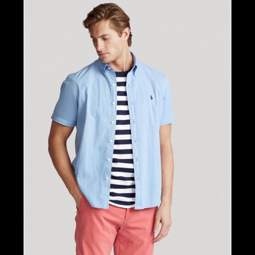 Men's Classics Short Sleeve Blue Shirt
