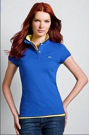 Women's Classical High Quality Polo Shirt A 003