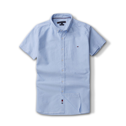Men's Classics Short Sleeve Blue Shirt